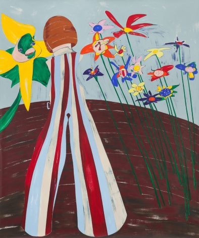 Nicola Tyson, In the Garden