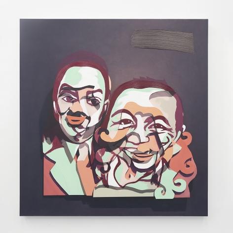 """Pieter Schoolwerth, Lucy & Aaron #6 (""""Bordeándola"""")"""
