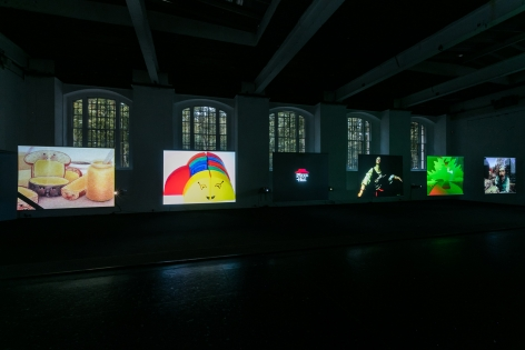 Seth Price Circa 1981ICA LondonInstallation view2017