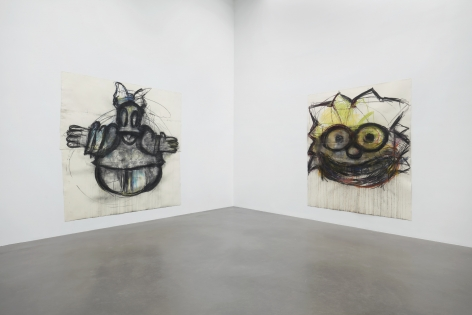 Joyce Pensato, Fuggetabout It (Redux)