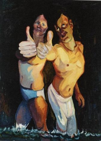 Optimisten/Optimists 2009 Oil on canvas