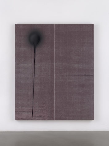Wade Guyton / Stephen Prina, Wade Guyton, Untitled, 2013, Epson UltraChrome HDX inkjet on linen