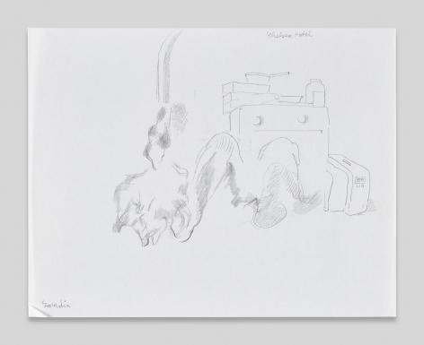 Maria Lassnig, Chelsea Hotel