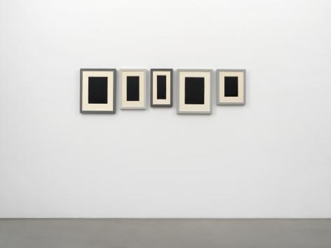 Allan McCollum Collection of Five Plaster Surrogates