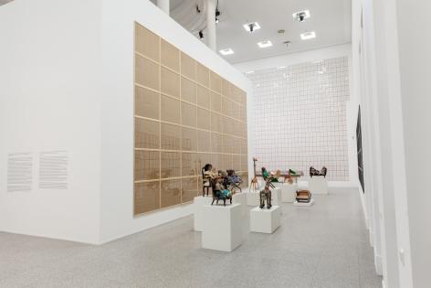 Hanne Darboven. Zeitgeschichten (Time Histories), Installation view, Bundeskunsthalle Bonn, 2015
