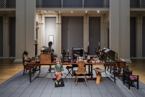 Hanne Darboven. Accepting anything among everyhing, Installation view, Talbot Rice Gallery, Edinburgh, 2015