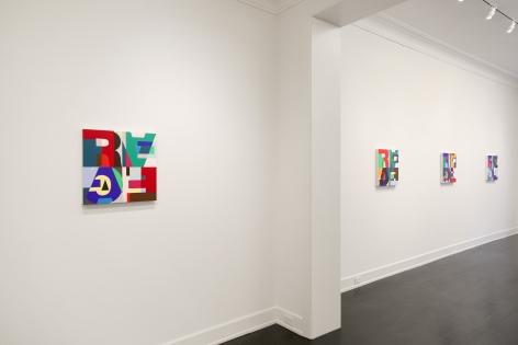 Heimo Zobernig: nework, Petzel Gallery, 2018  Installation view