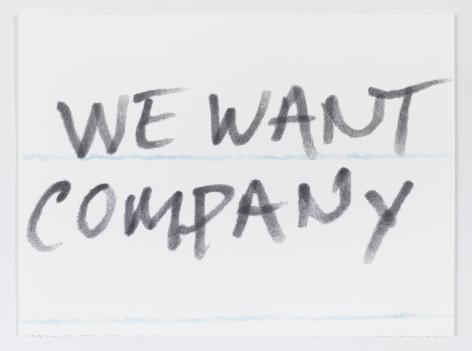 Sean Landers, We Want Company