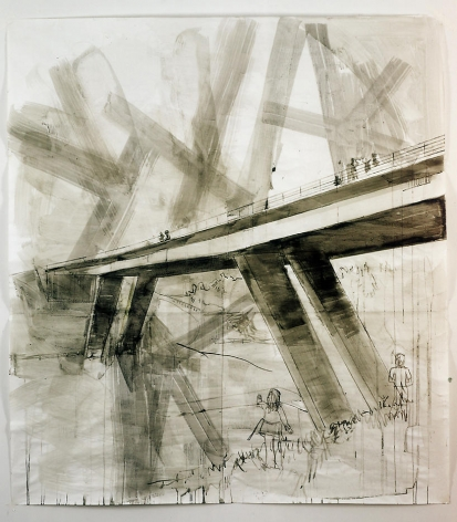 Drawing for The Wisdom of Concrete II
