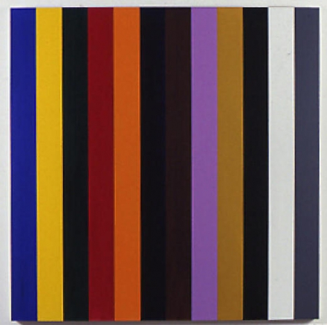Untitled 1995 Acrylic on canvas