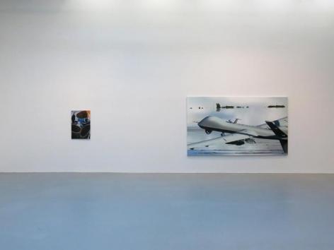 Dirk Skreber Installation view 12