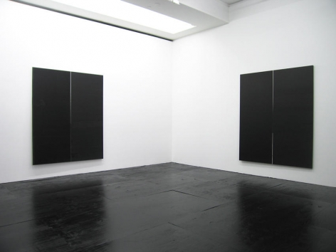 Wade Guyton Installation view