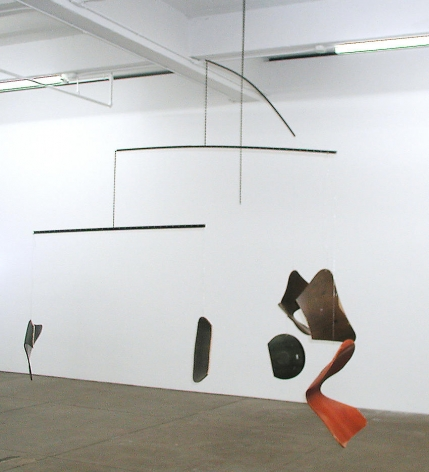 Martin Boyce It was summer now Its Autumn