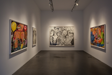 Dana Schutz, Museum of Contemporary Art, Denver, 2012, Installation view