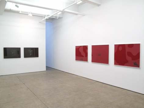 Troy Brauntuch Installation view
