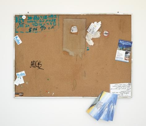 Fiona Connor, Community Notice Board (La Brea)