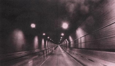 Adam McEwen, Battery Tunnel (Pink)