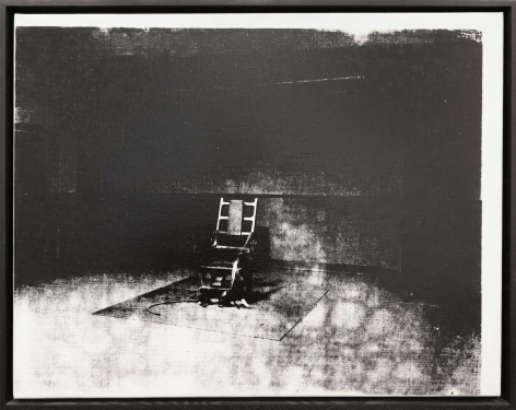 Andy Warhol, Little Electric Chair