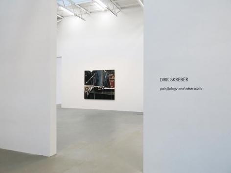 Dirk Skreber Installation view 2