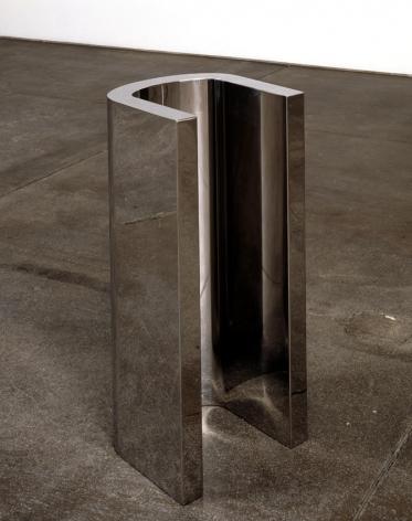 Wade Guyton U Sculpture