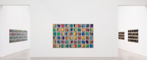 The Shapes Project: Perfect Couples, Petzel Gallery, 2014, Installation view