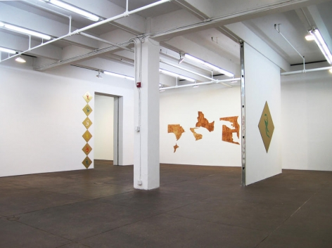 Seth Price Installation view