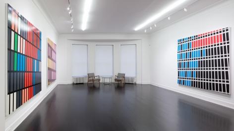 Sarah Morris, Midtown Paintings: 1998–2001
