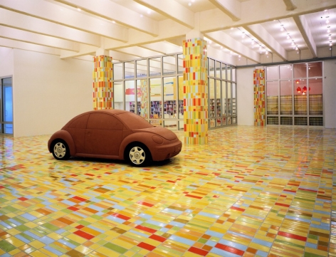 Jorge Pardo: Project, Dia Chelsea, 2000  Installation view