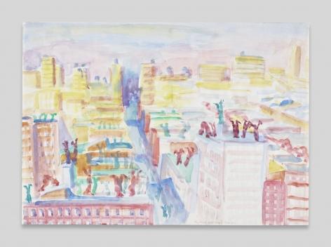 Maria Lassnig, New York Steht Kopf