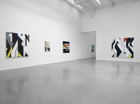 Finite and Infinite Games, Petzel Gallery, 2017, Installation view