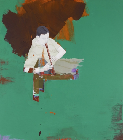 Thirsis 2009 Acrylic on canvas