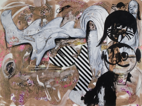 Charline von Heyl, Vandals Without Sandals