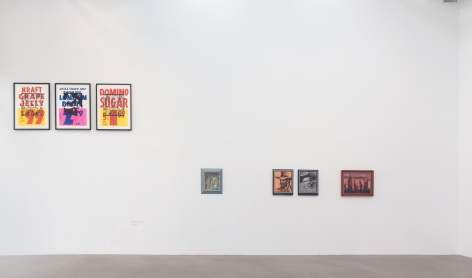 Strategic Vandalism: The Legacy of Asger Jorn's Modification Paintings, Installation view