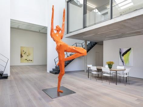 oben ohen, Galerie Bärbel Grässlin, 2019, Installation view