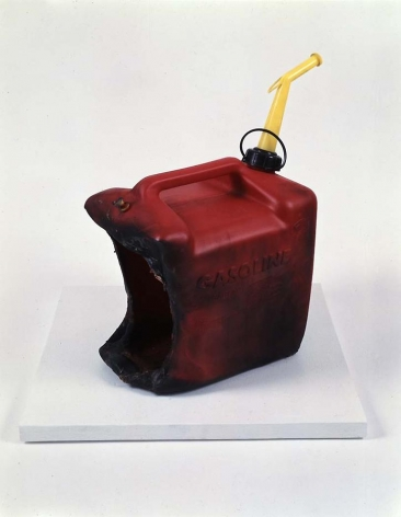 Sarah Morris Large Industrial Gasoline Can, Blown Up