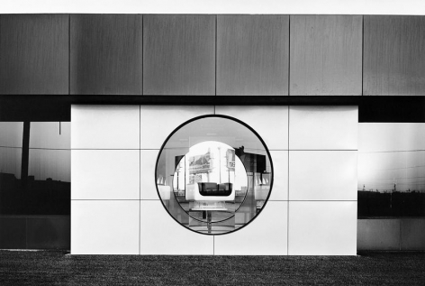 Lewis Baltz NIP #49: North Wall, Steelcase, 1123 Warner Avenue, Tustin
