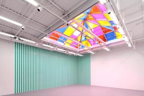 Daniel Buren Installation view 5
