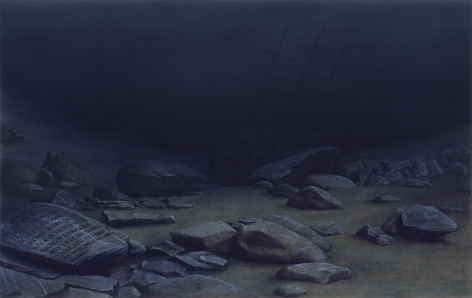 Sean Landers Shipwreck II