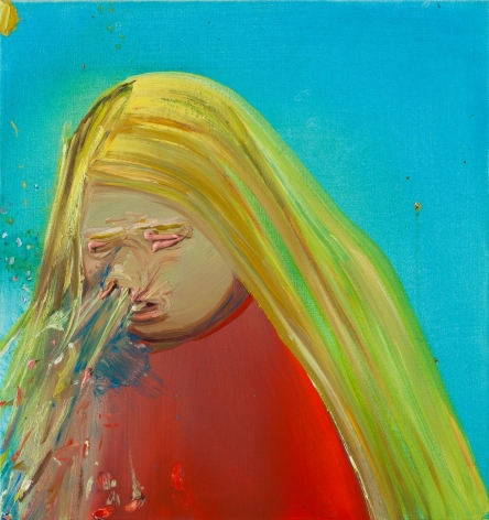 Sneeze 2001 Oil on canvas