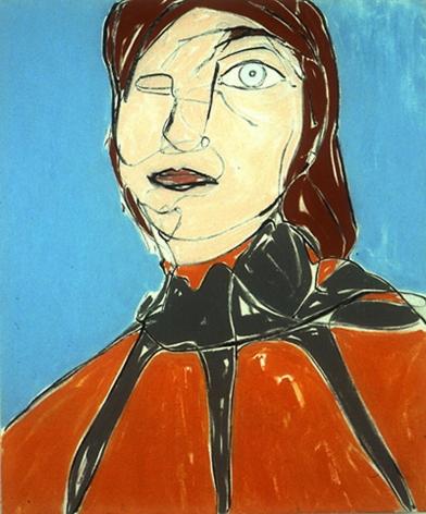 Head 1999 Acrylic on canvas
