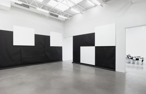 Heimo Zobernigchess paintingInstallation view2018