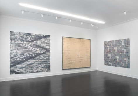 Works: 1968-1977, Petzel Gallery, 2017, Installation view
