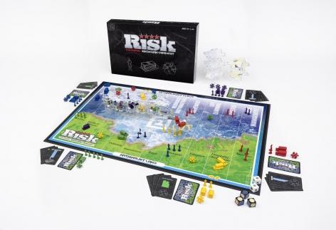 Blockchain Risk Board Game Prototype: Tech/Venture 21Inc Edition