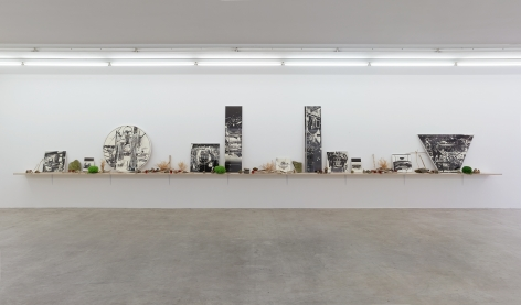 Hour of Excavation, Neuer Aachener Kunstverein, 2017, Installation view