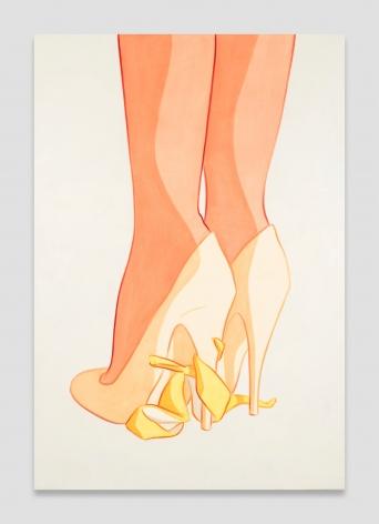 Ivy Haldeman, Heels, Peel Under Shank, Soft Wrap