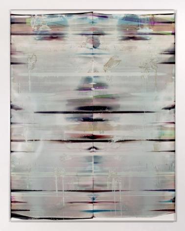 Cross-Contaminated Inverted RA4 Contact Print (MYC/Six Magnet: Los Angeles, California, April 11, 2016; Fujicolor Crystal Archive Super Type C, Em. No. 112-006; Kodak Ektacolor RA Bleach-Fix and Replenisher; Kreonite KM IV 5225 RA4 Color Processor, Ser. No. 00092174; 07216)