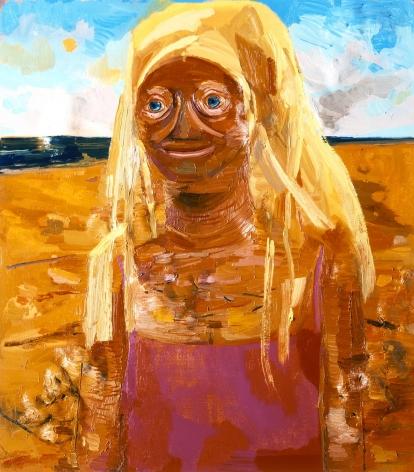 Daytona 2005 Oil on canvas