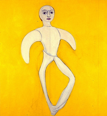 Yellow Self-Portrait 1997