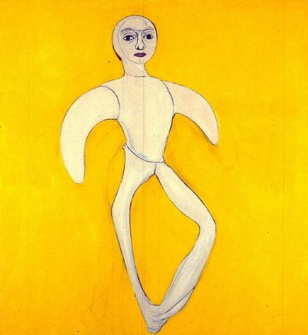 Yellow Self-Portrait 1997