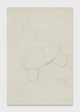Maria Lassnig, Selbsportrait in New York